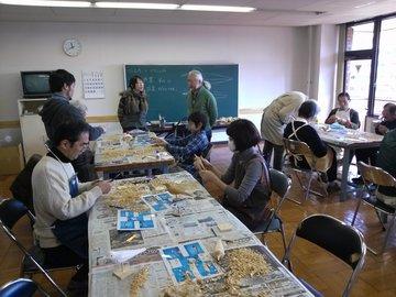 2012.2.19 バードカービング教室1のサムネール画像